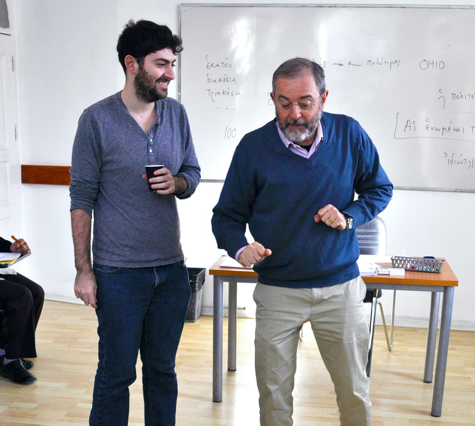 Training for Ancient Greek and Latin instructors